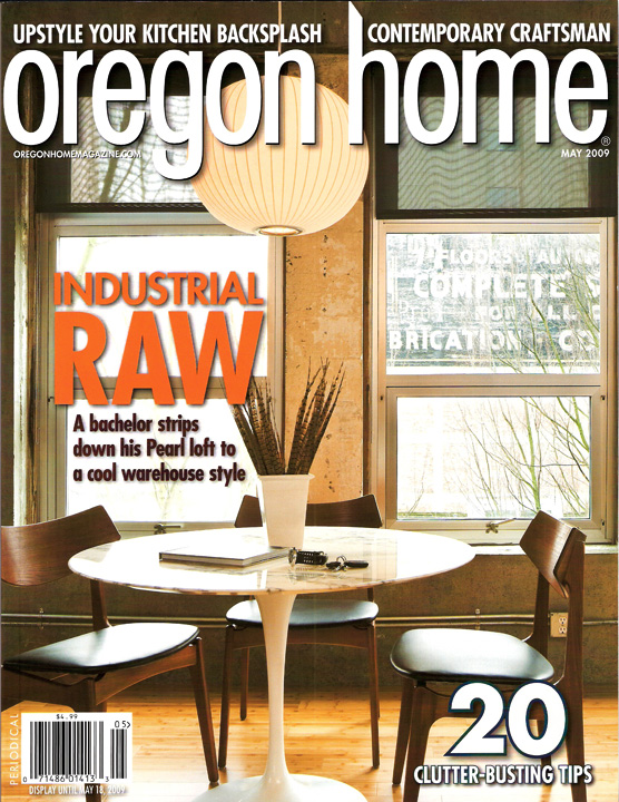 Oregon Home Magazine Cover Story Sbaird Design Color Consultation